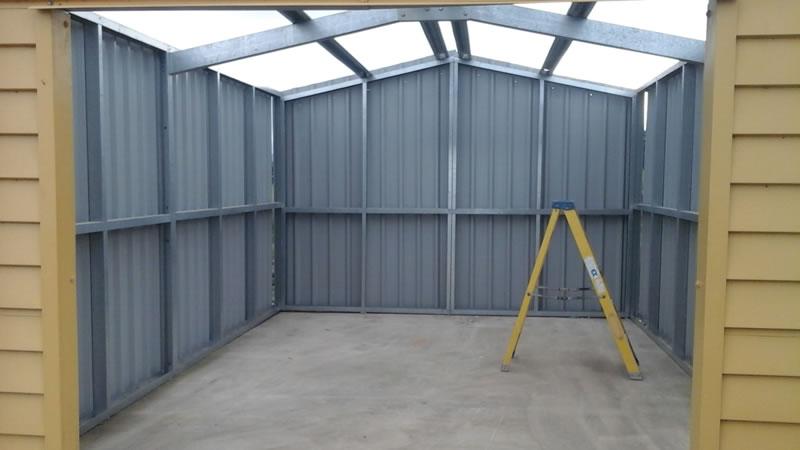 Stud Frame Garages Steel Garages